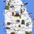 01- carte du Sri Lanka